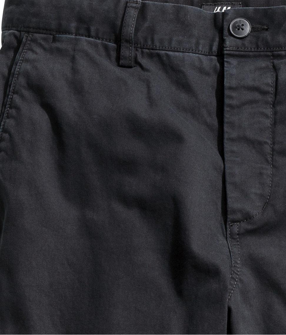 great discount sale popular design new arrivals H&M Black Chinos Slim Fit for men