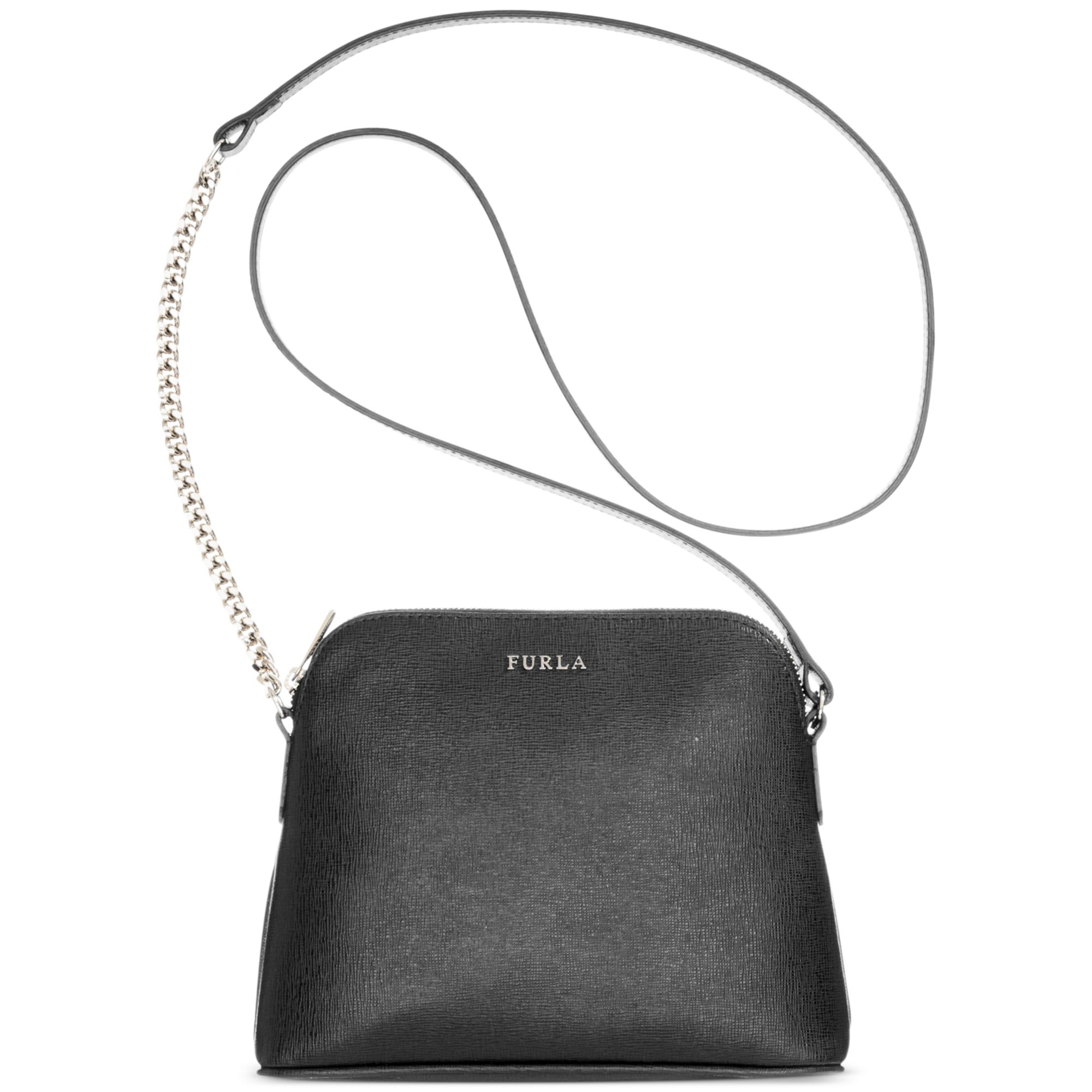 00c66552bbda Lyst - Furla Meridienne Large Minibag in Black