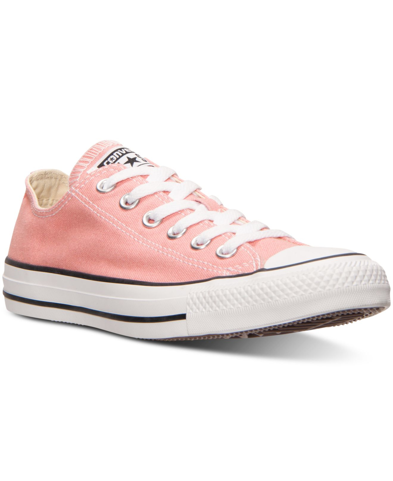252ebd64b63351 Lyst - Converse Women s Chuck Taylor Ox Casual Sneakers From Finish ...