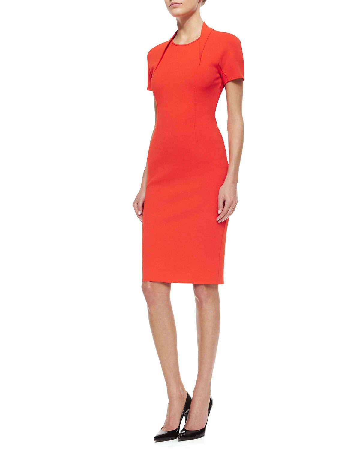 Red dress neiman marcus john