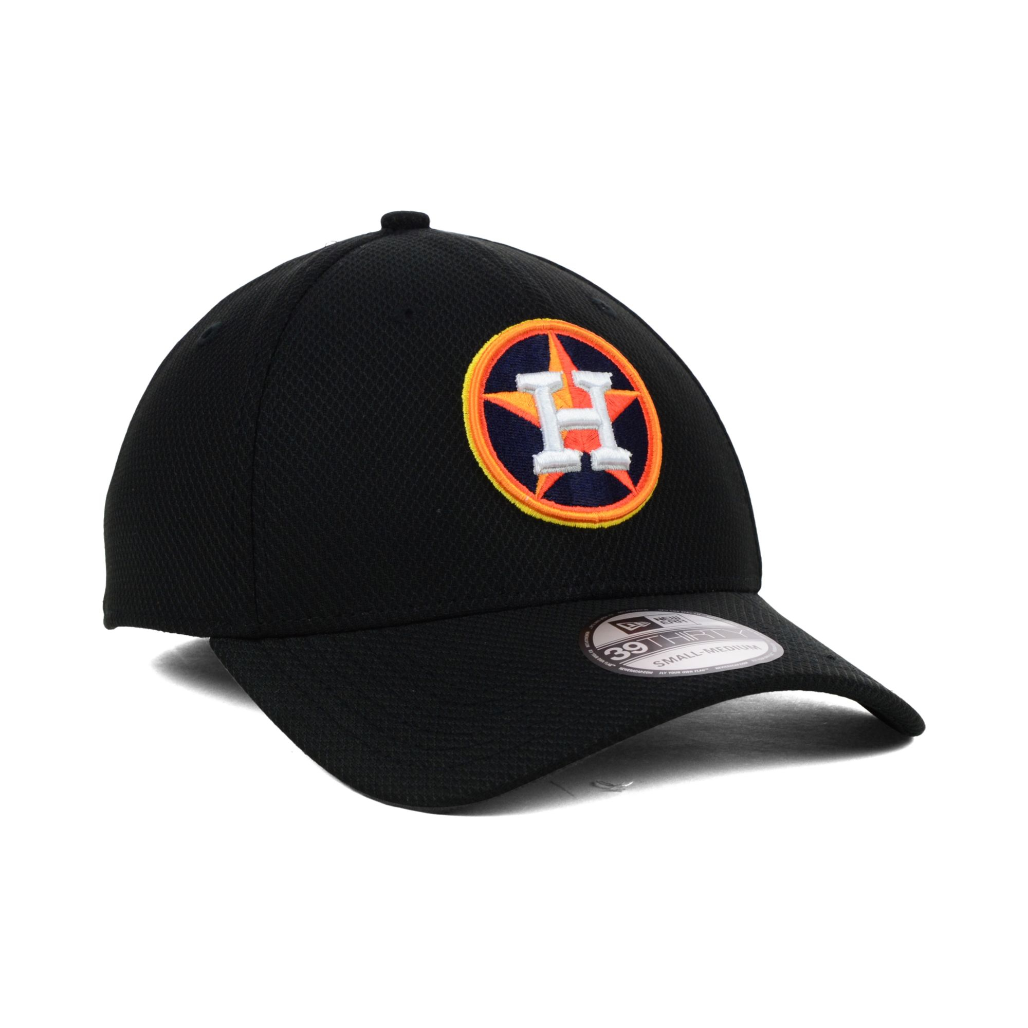 uk availability 6370f d004d ... switzerland clearance lyst ktz houston astros diamond era black  39thirty cap in black 86570 9dc38 45938