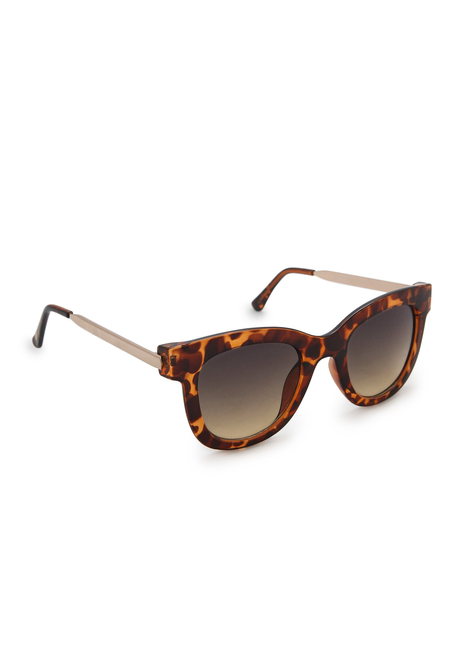 resin frame sunglasses in brown - Brown Mango lKXnzAG3