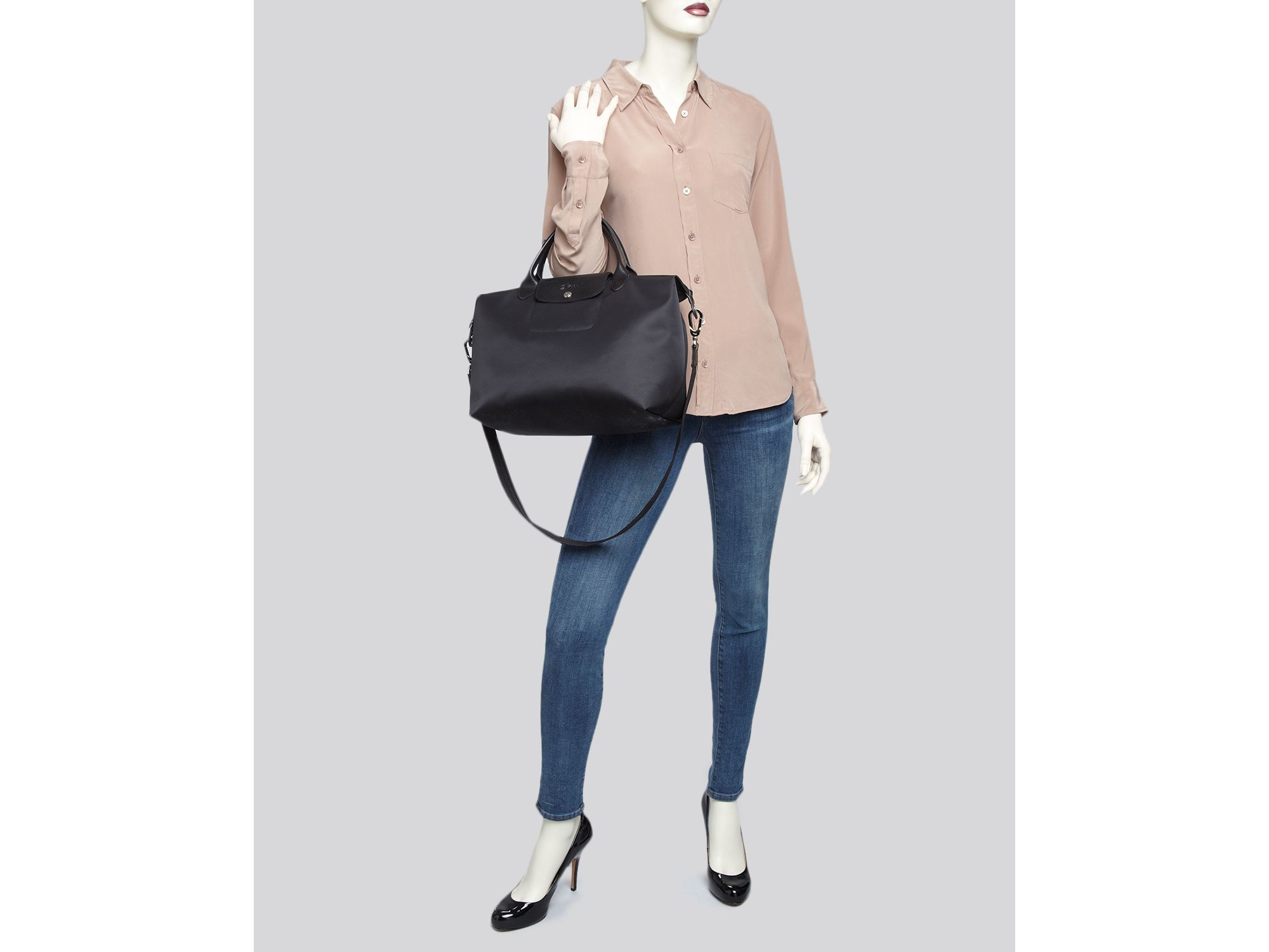 c85a99b57ed7 Gallery. Previously sold at  Bloomingdale s · Women s Longchamp Neo Women s  Celine Edge Bag ...