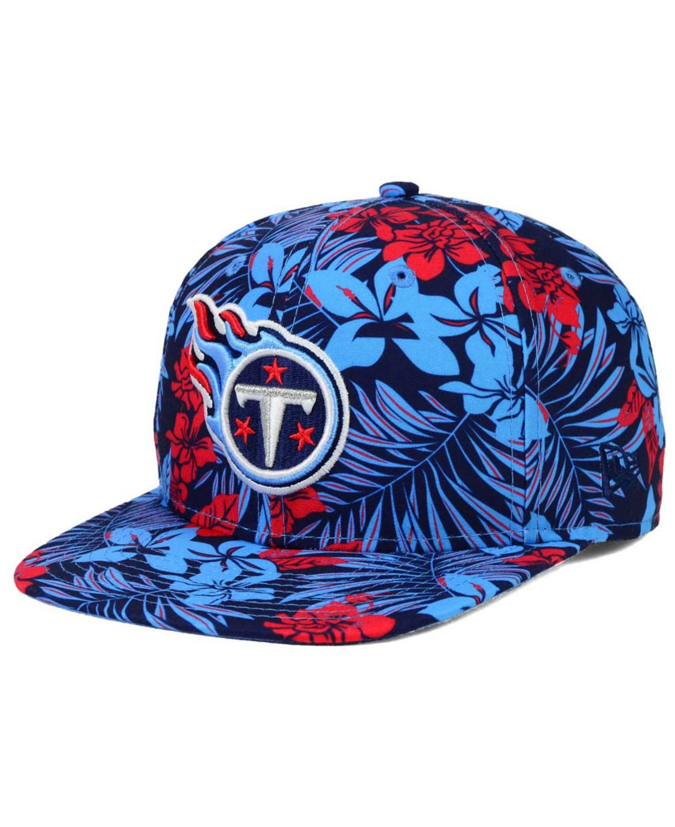 brand new 12ab9 c5447 ... 50% off lyst ktz tennessee titans wowie snapback cap in blue for men  f5d45 94d84