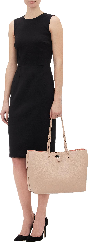 ... italy fendi carla selleria tote bag in pink lyst a9d6d ae658 ebd658653137a