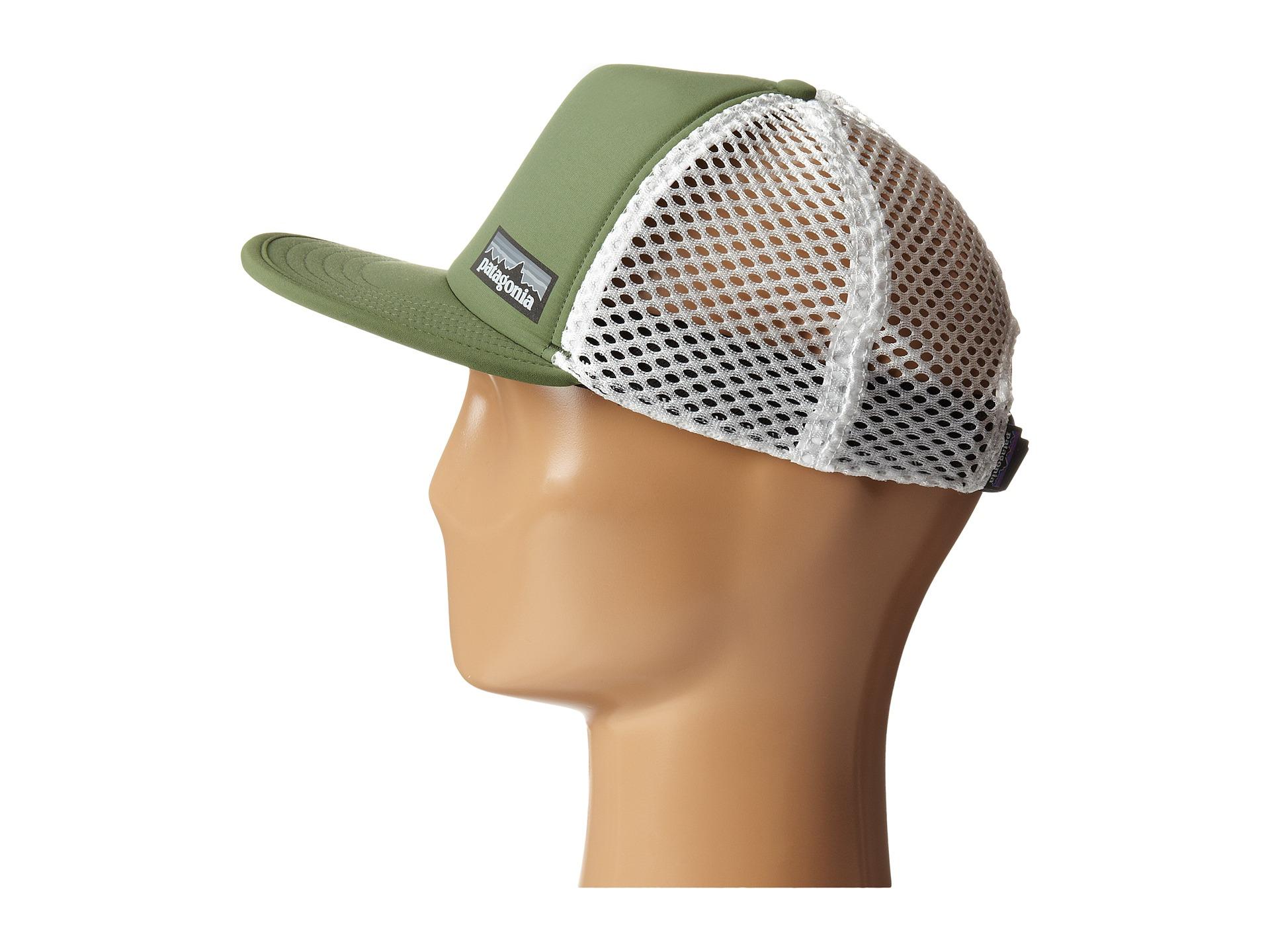 Lyst - Patagonia Duckbill Trucker Hat in Green b1c2db5297f