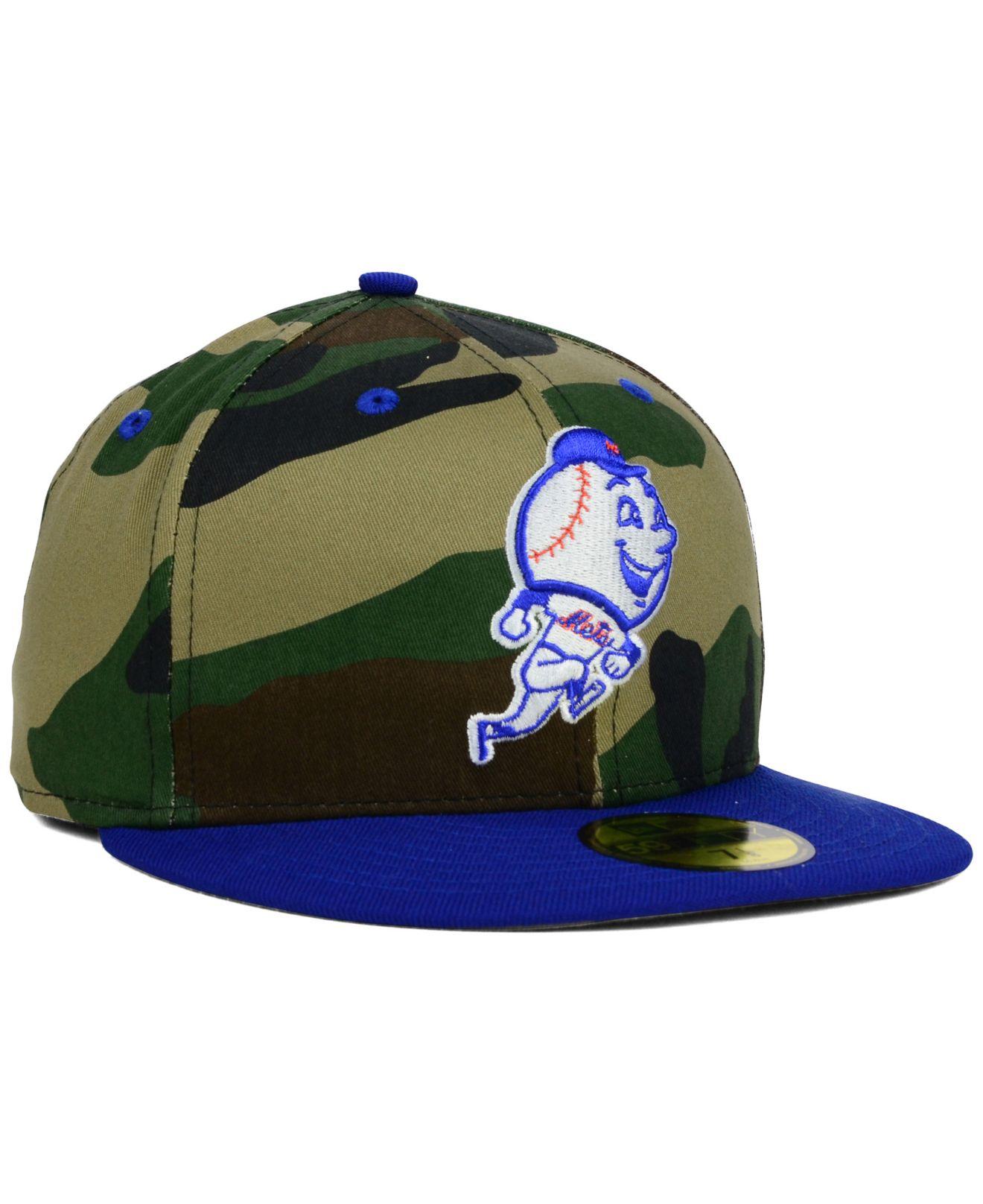 new concept 2c745 ffc00 ... denmark lyst ktz new york mets camo pop 59fifty cap for men 567c6 24312