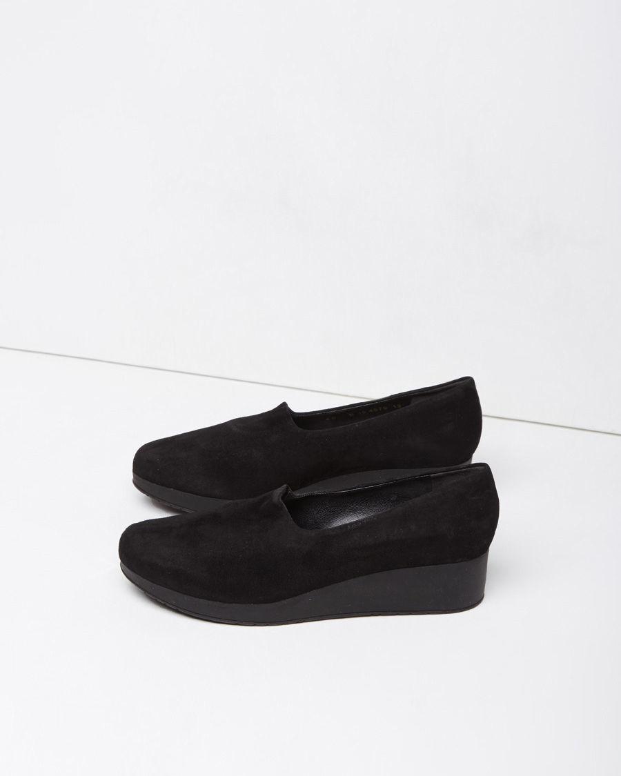 platform slip-on shoes - Black Robert Clergerie 9NuUXgF