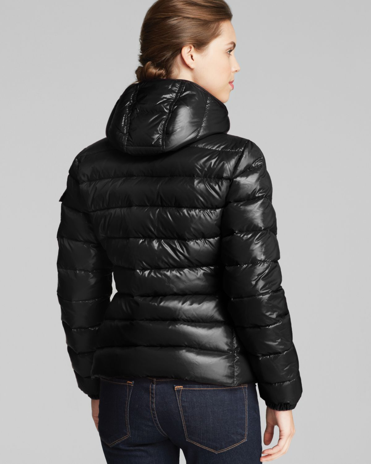c110a5a32 buy moncler short down jacket with hood 1ea66 f4887