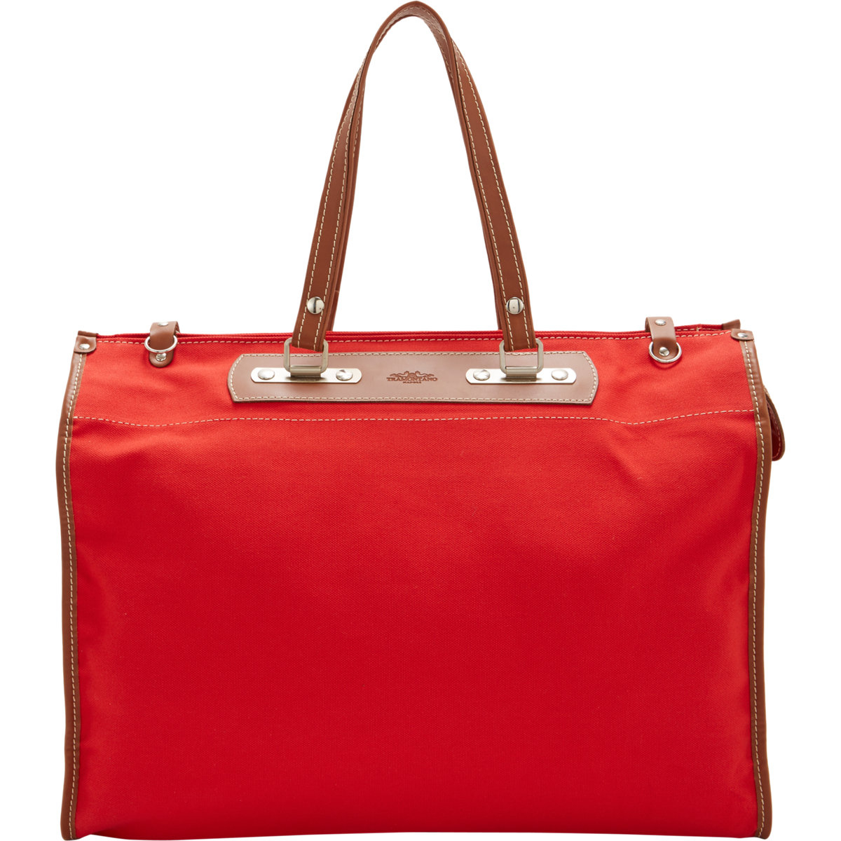 Lyst Tramontano Canvas Roll Up Tote In Red For Men