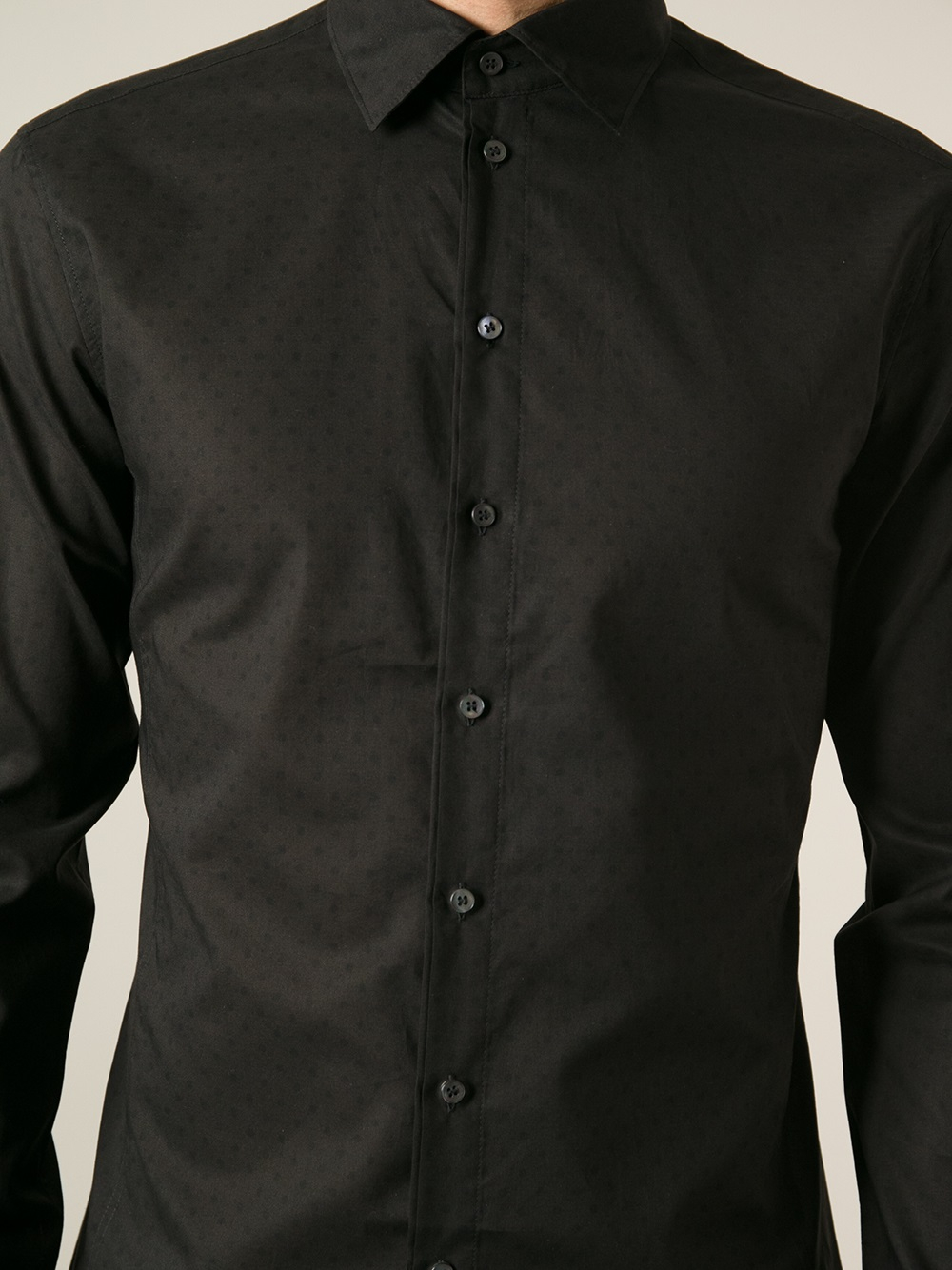 Black Collared Shirt | Is Shirt