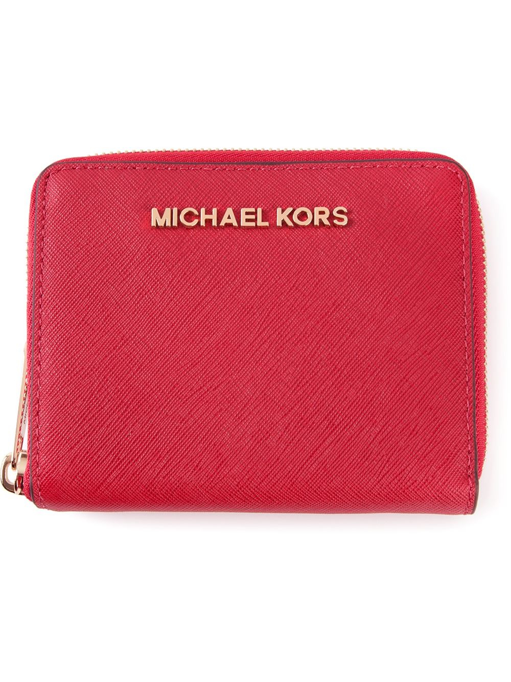 799acf918944 MICHAEL Michael Kors 'Jet Set Travel' Medium Zip Around Wallet in ...