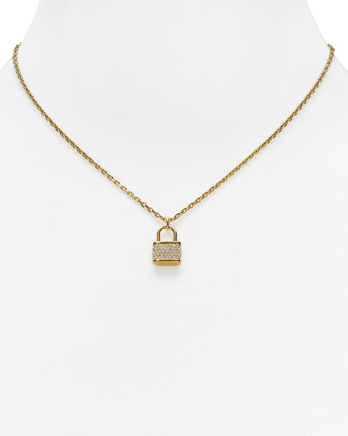 de1144f0eabe1 Gallery. Previously sold at  Bloomingdale s · Women s Padlock Necklaces  Women s Michael Kors Charm ...