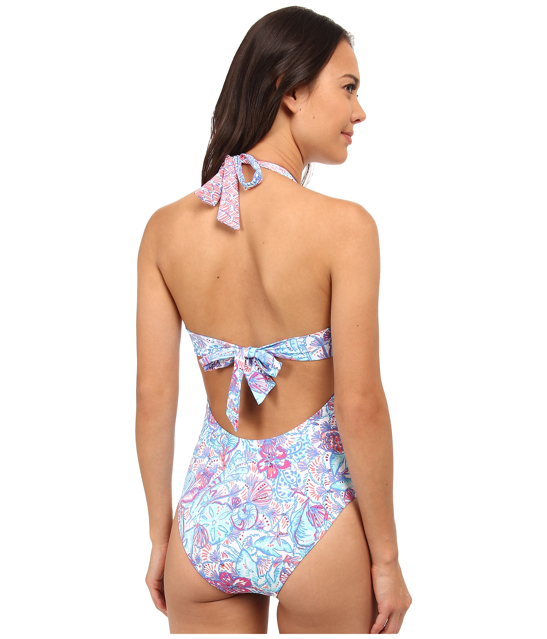 e441fb1feeb42 Lyst - Lilly Pulitzer Seafayer Swimsuit in Blue