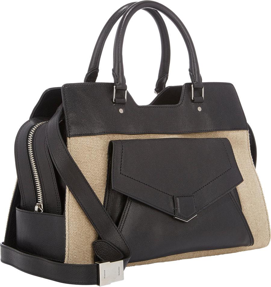e1c9859b5793 Proenza Schouler Ps13 Small Shoulder Bag in Black - Lyst