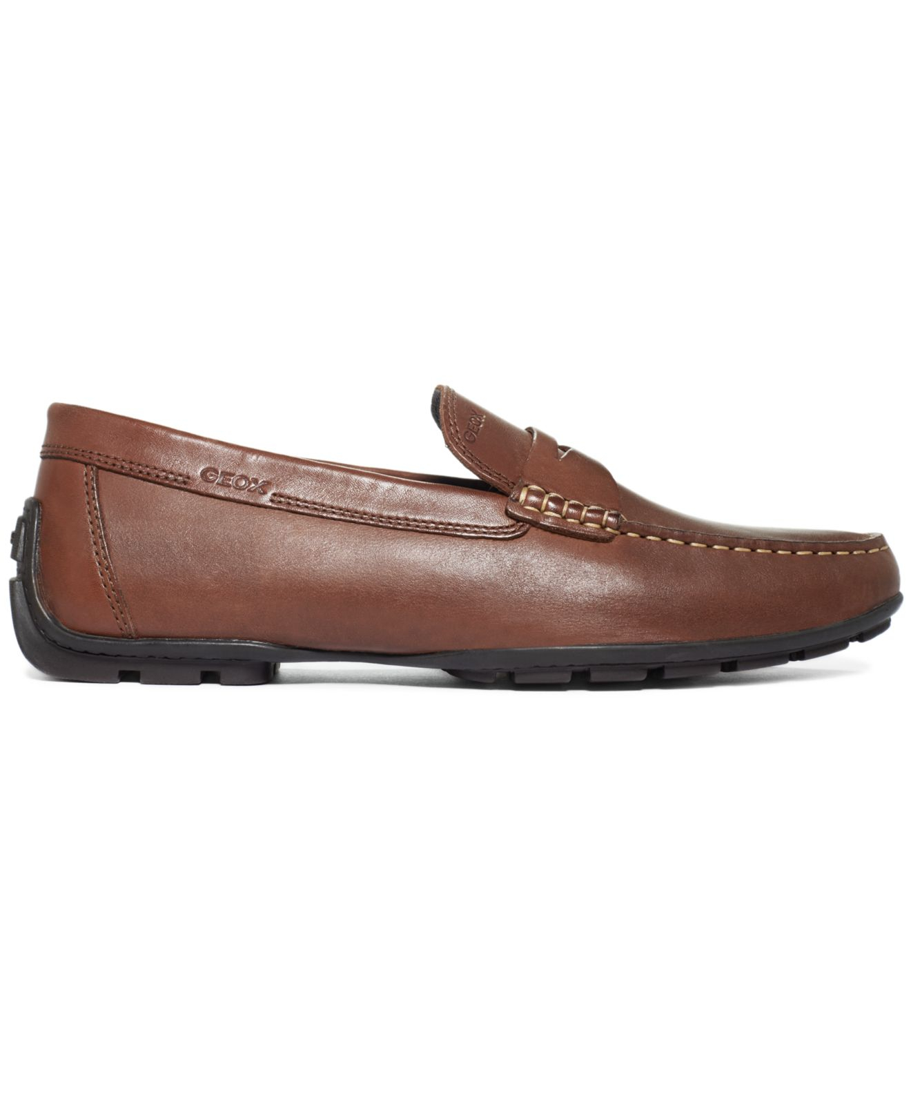 In For Loafers Geox Penny Monet Lyst Men Brown 2IE9DH