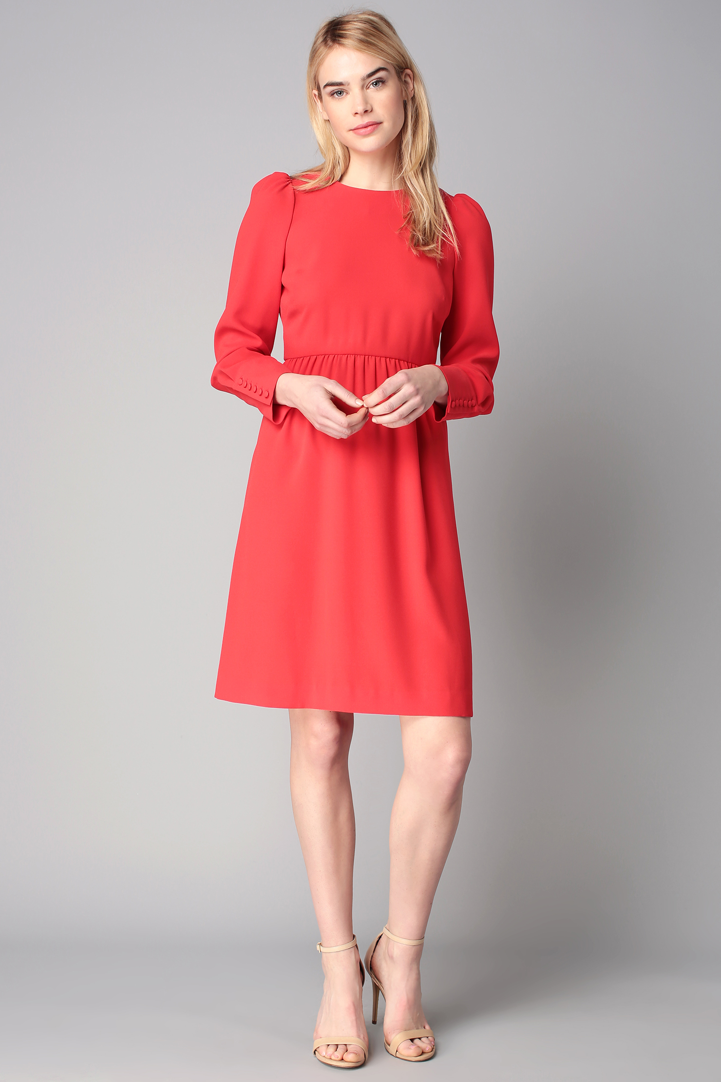 Tara jarmon robe rouge 2015
