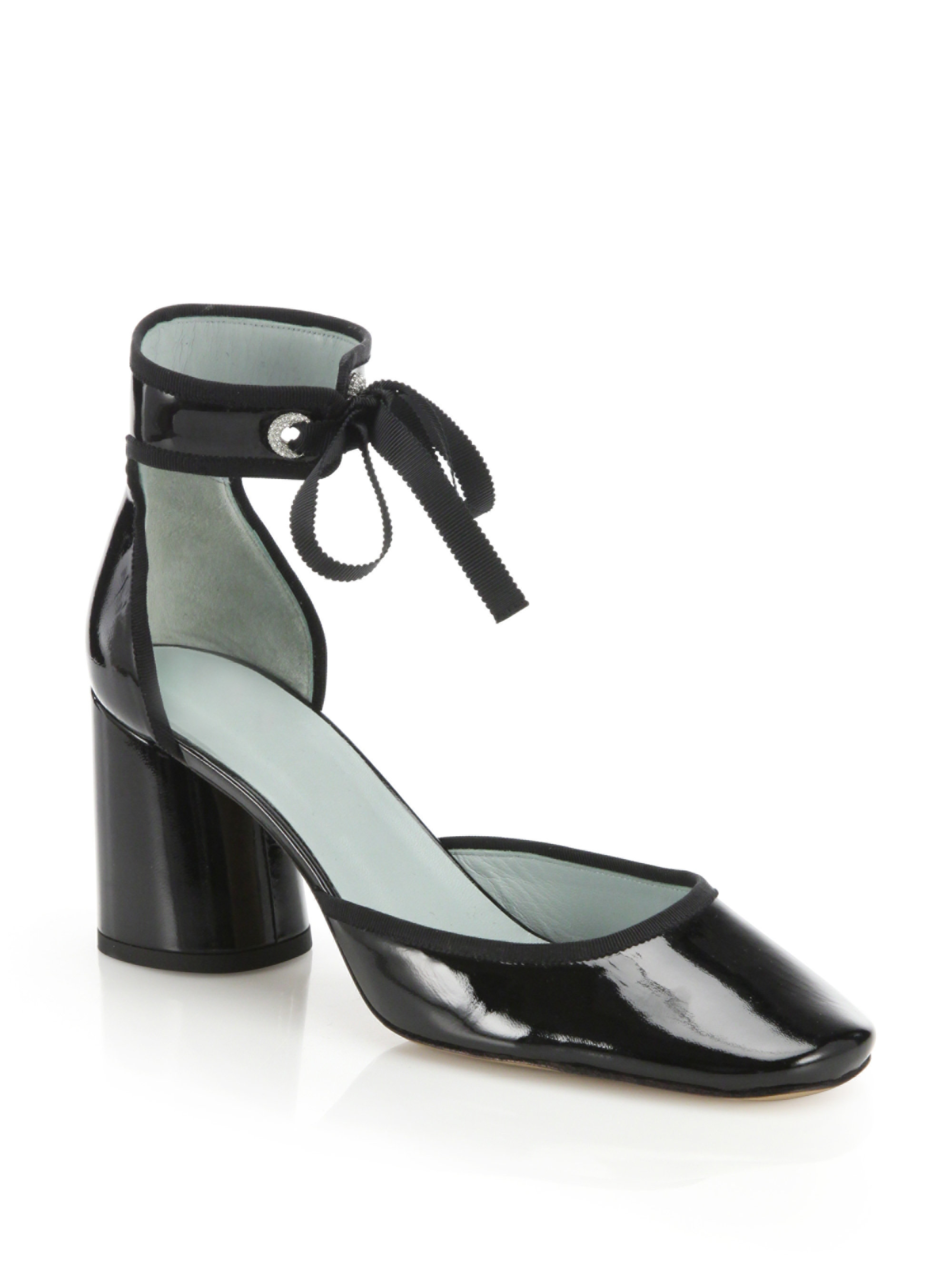 Marc Jacobs Patent Leather Ankle Strap Sandals buy cheap pictures tumblr cheap sale in China largest supplier popular U7GLEuWT1