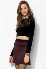 Urban Outfitters Cooperative Tartan Plaid Mini Skirt