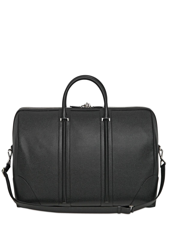 95dfe2847b7d Lyst - Givenchy Embossed Leather Weekender Bag in Black for Men