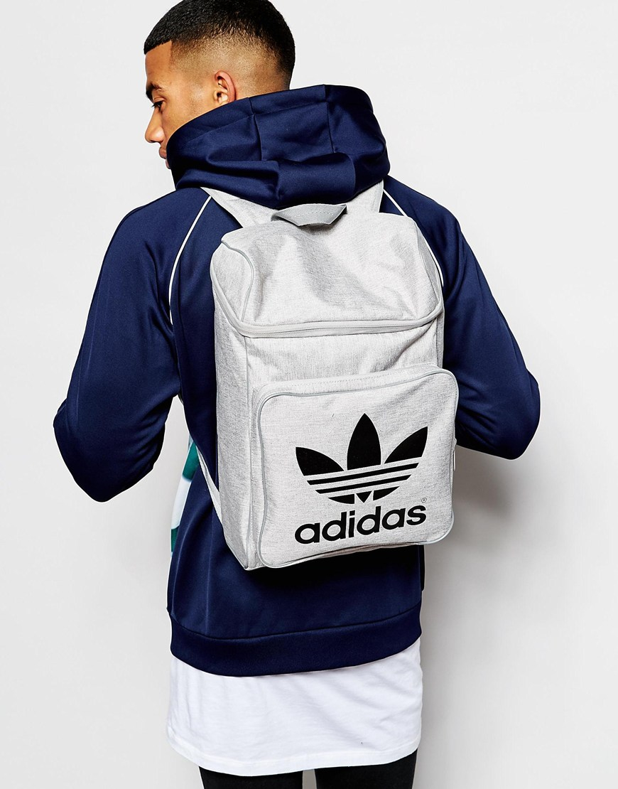 Lyst - adidas Originals Backpack In Fall Melange Ax5787 in Gray for Men b5e287d23f09