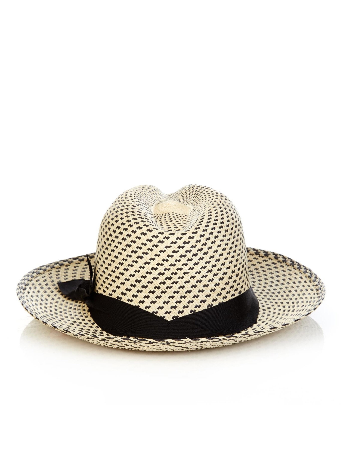 Sensi studio New Erosion Panama Straw Hat in Natural for ...