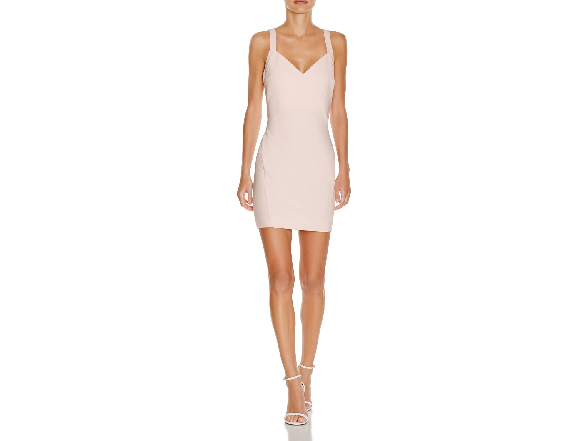 Lyst - Likely Benson Bodycon Dress in White 79e16d1a8ad3