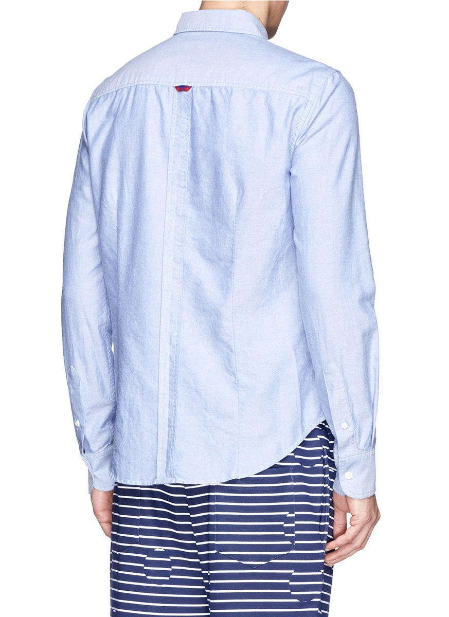 lyst band of outsiders allover locker loop cotton oxford ForLocker Loop Dress Shirt