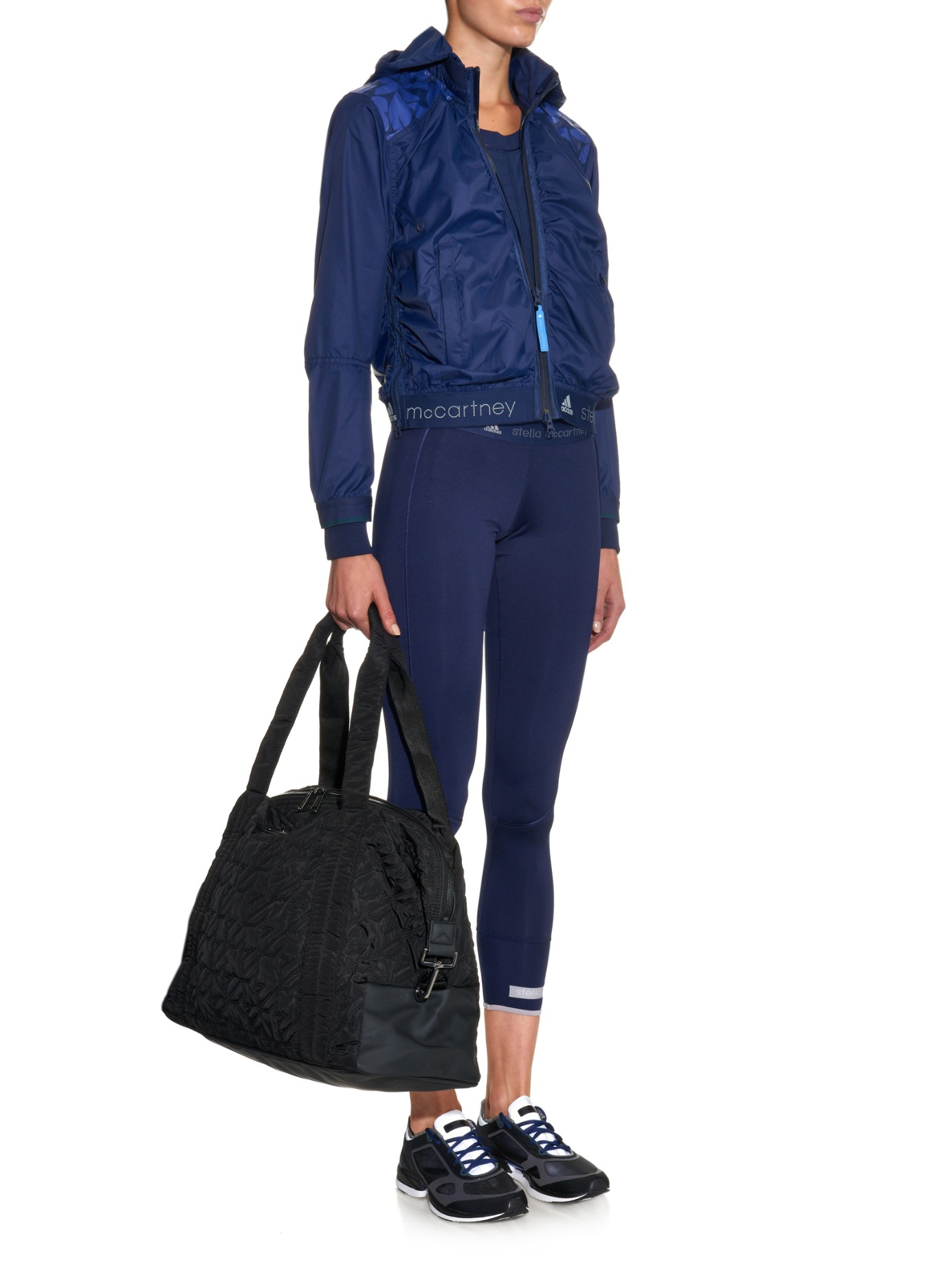 Lyst Adidas By Stella Mccartney Big Quilted Nylon Gym