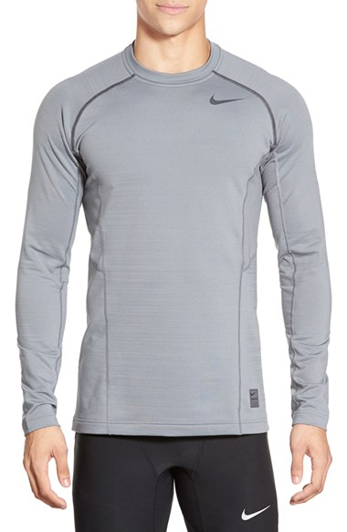 Armani jeans long sleeve hoodie for men gray with black for Black fitted long sleeve t shirts