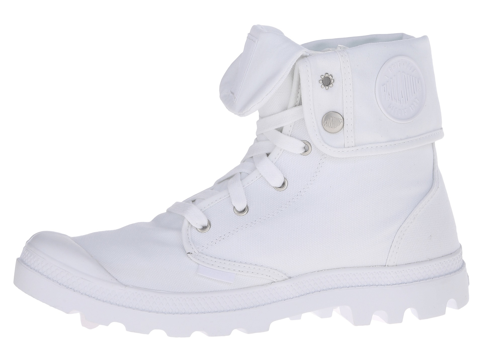 palladium baggy in white for lyst