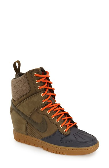 90b585f7052 Gallery. Previously sold at  Nordstrom · Women s Wedge Sneakers Women s  Nike Dunk Women s Nike Dunk Sky Hi ...