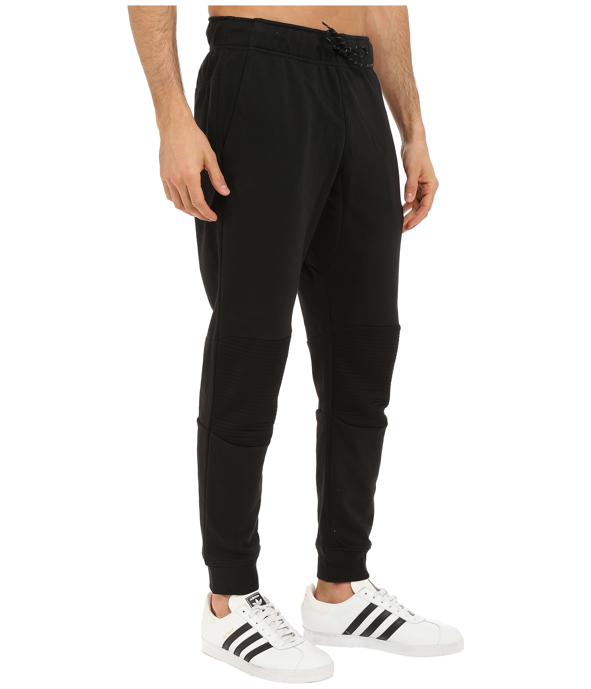 d02d0b4f3 adidas Originals Sport Luxe Moto Jogger Pants in Black for Men - Lyst