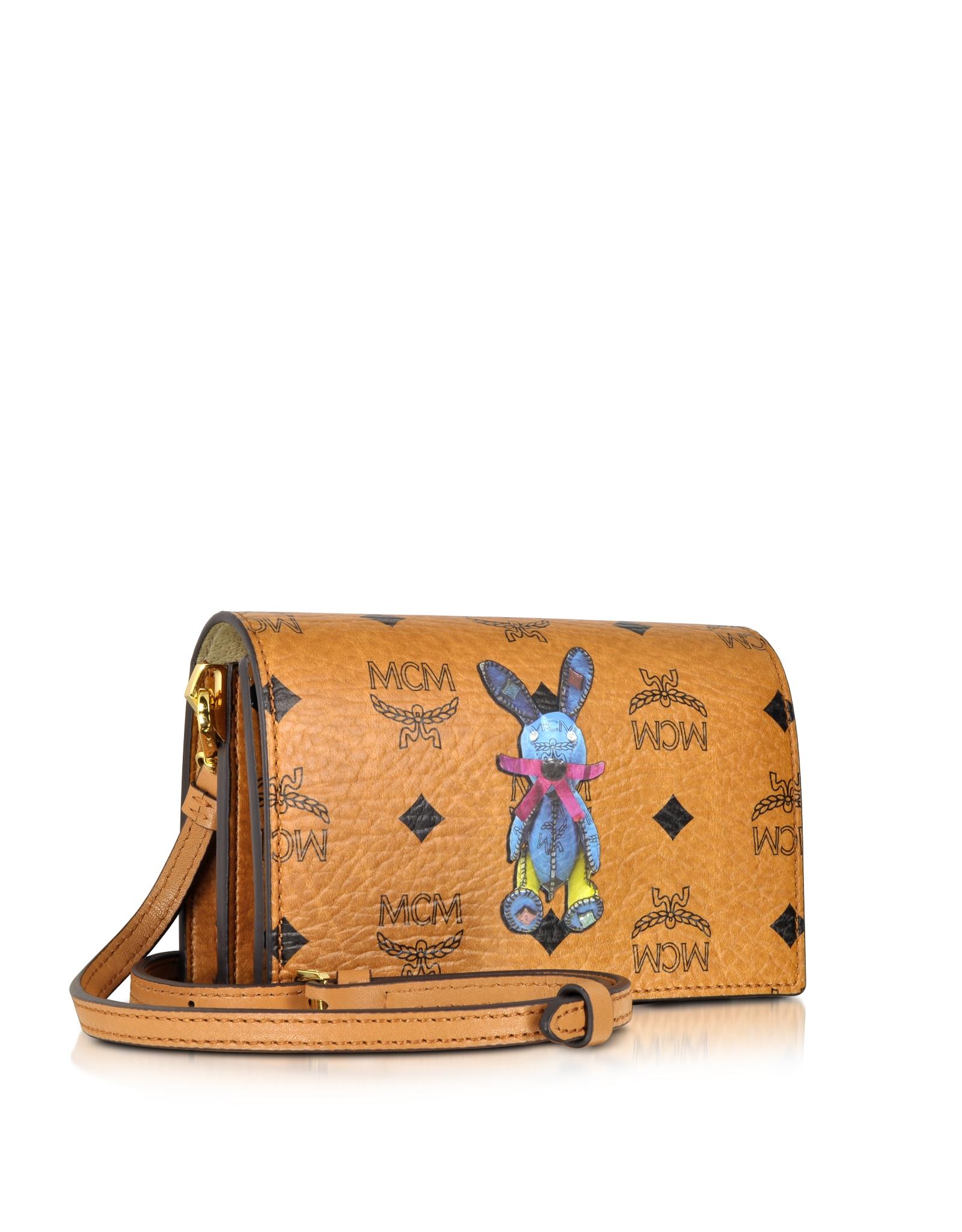 b8ce72305 MCM Rabbit Mini Crossbody Bag in Brown - Lyst