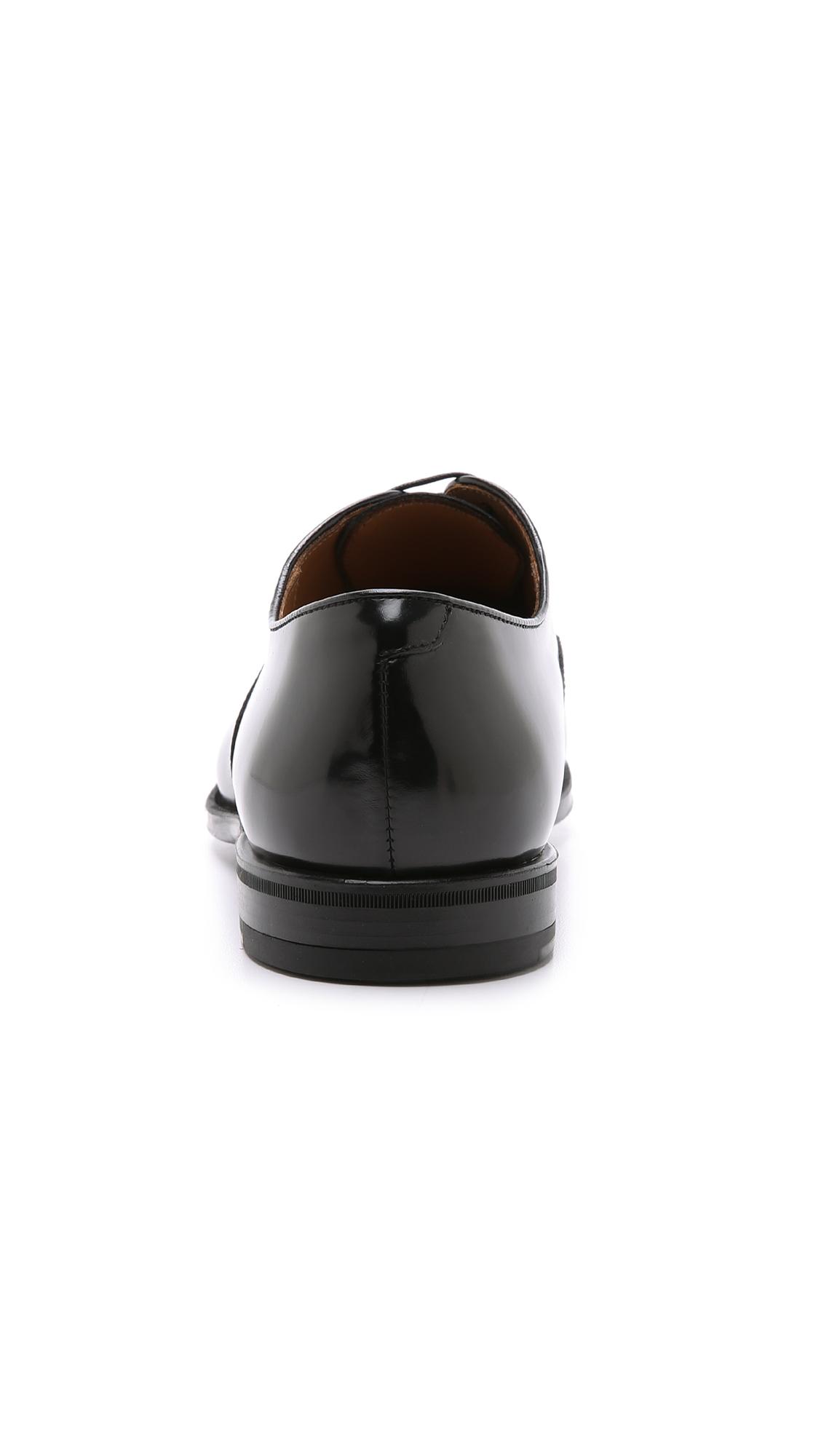 Toe Cap Lyst Roma For Doucal's Men Oxford Black In Shoes MGSqpVUz