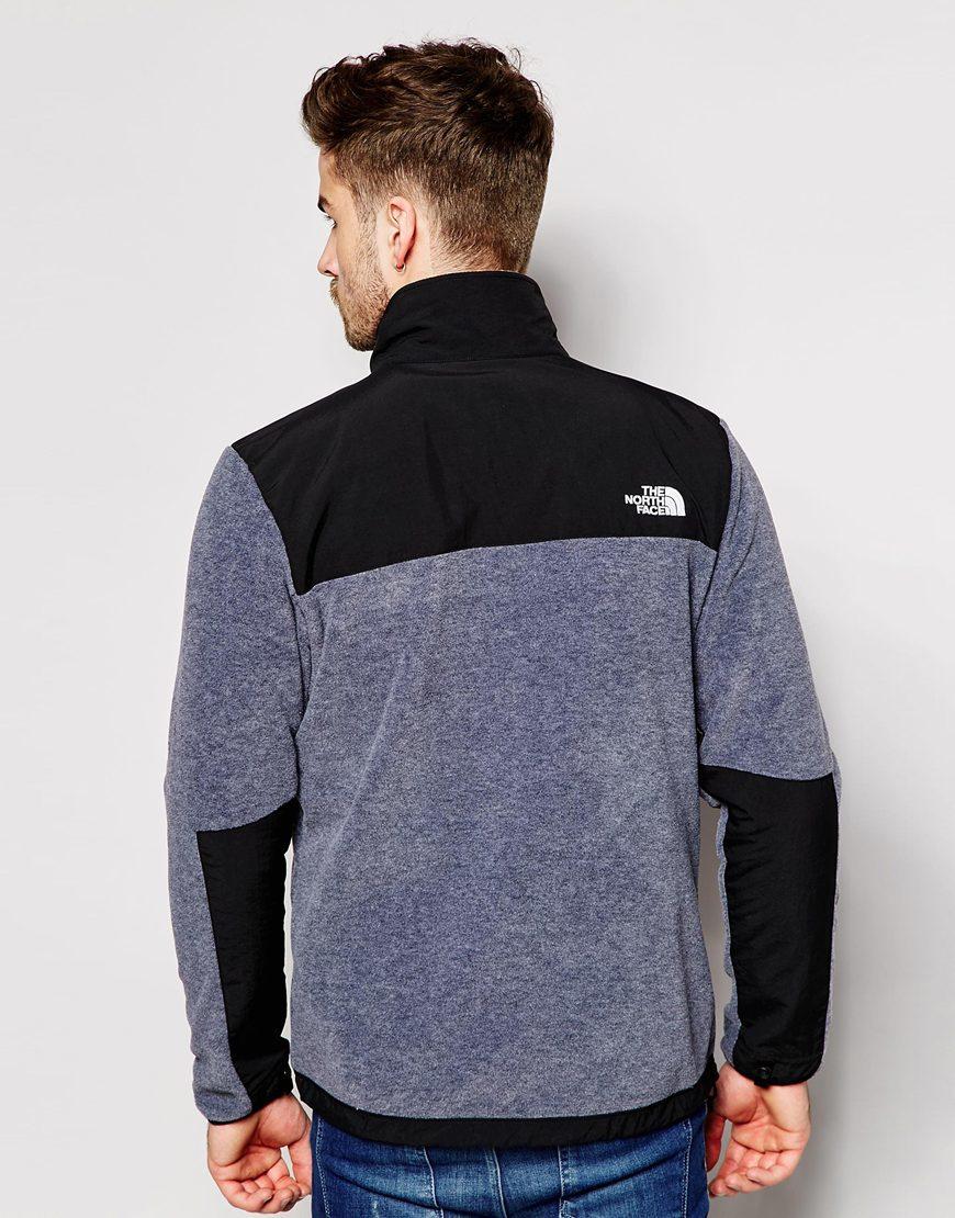 0345161ae527 Lyst - The North Face Denali Ii Fleece Jacket in Gray for Men