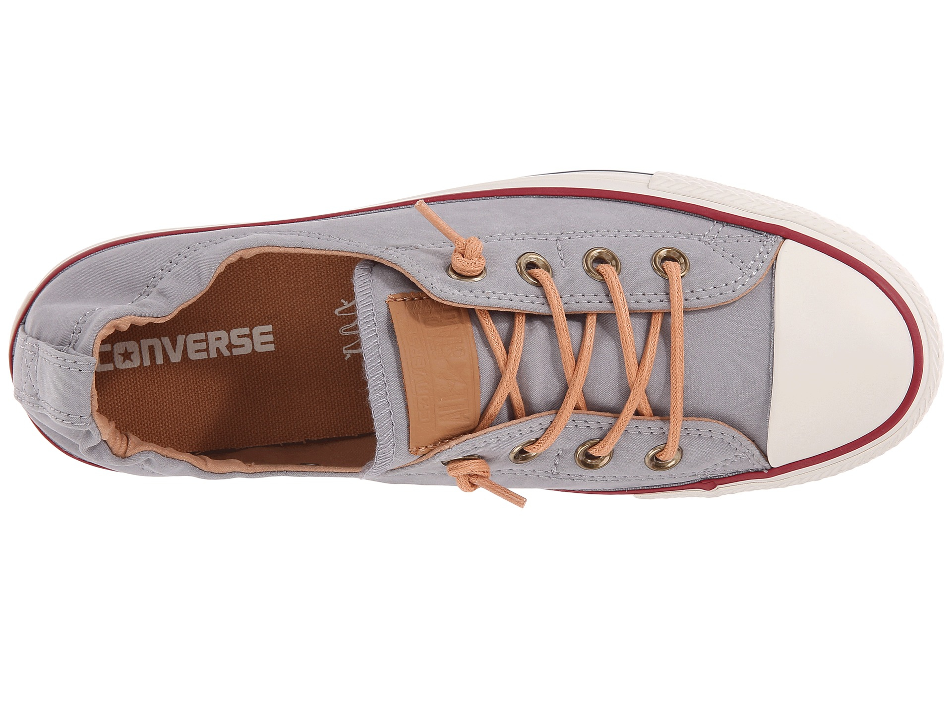 Lyst - Converse Chuck Taylor® All Star® Shoreline Peached Canvas in Gray 2ab7cf489