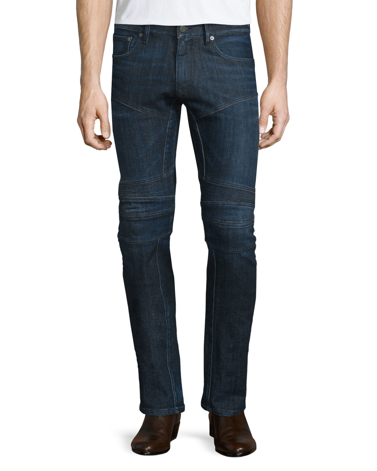 Hudson Jeans makes the best designer jeans for men in seasonal colors and fits, as well as on trend bomber jackets, jean jackets, selvedge denim, cargo pants, jean shorts and much more. Find your favorite denim fit when it comes to skinny jeans, straight leg jeans, slim straight jeans, and bootcut jeans.