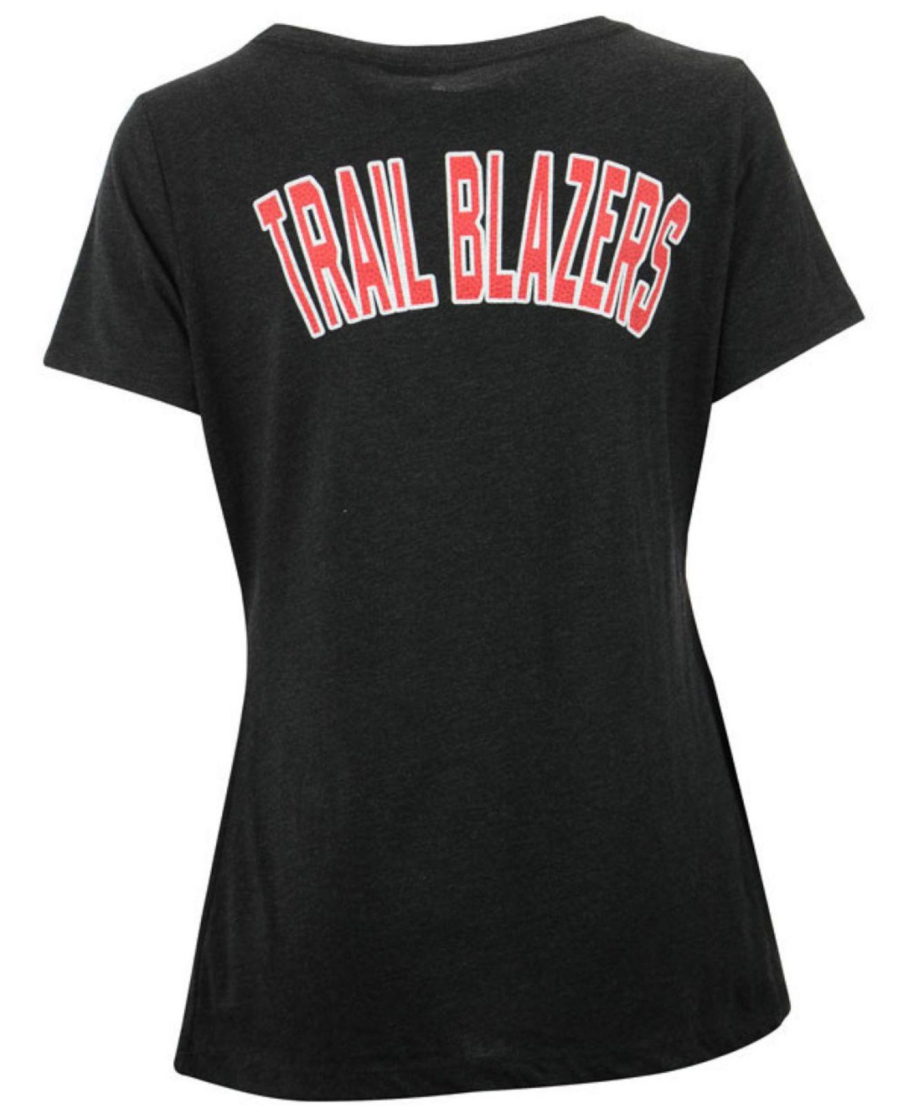 Lyst adidas originals women 39 s portland trail blazers for T shirt printing in portland oregon