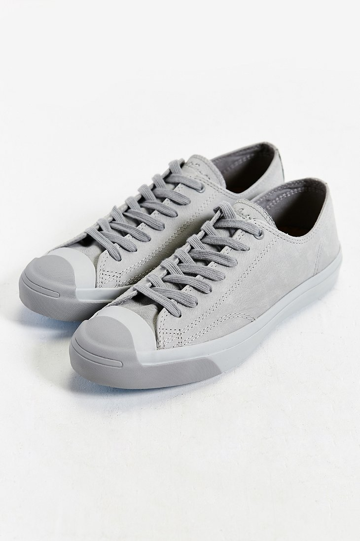 8819305f1761 Lyst - Converse Jack Purcell Nubuck Low-top Sneaker in Gray for Men