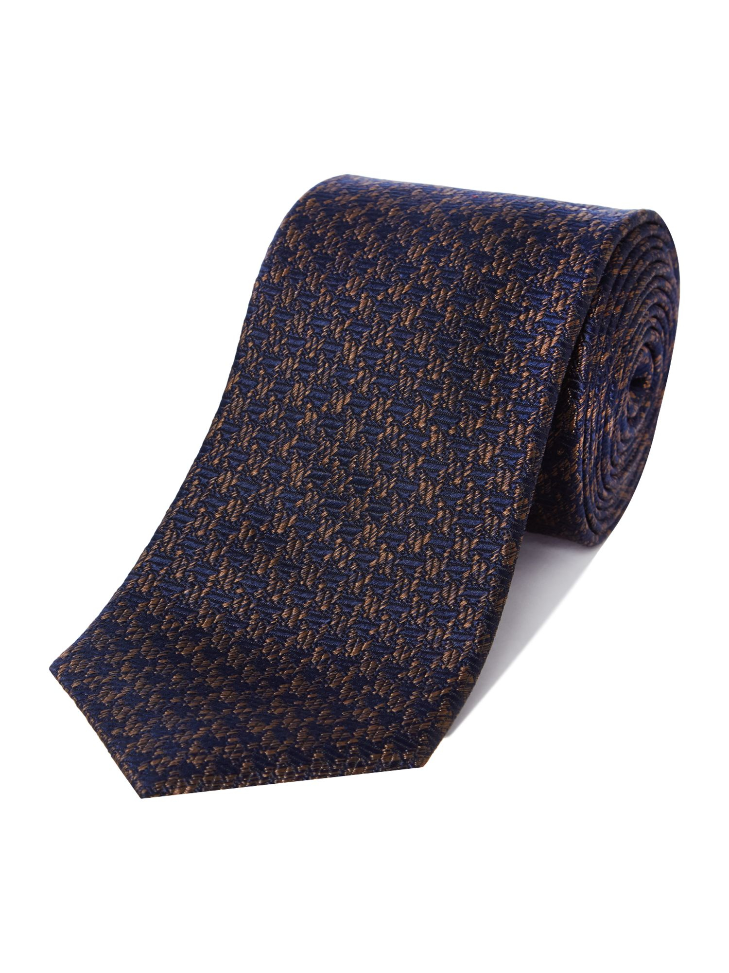 6ccca1354d9d41 Ted Baker Atacus Textured Tie in Blue for Men - Lyst