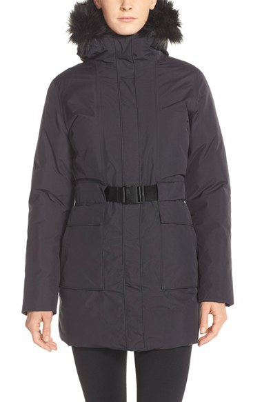 Lyst - The North Face  dunagiri  Waterproof Down Parka With Faux Fur ... 7ee38bb3a