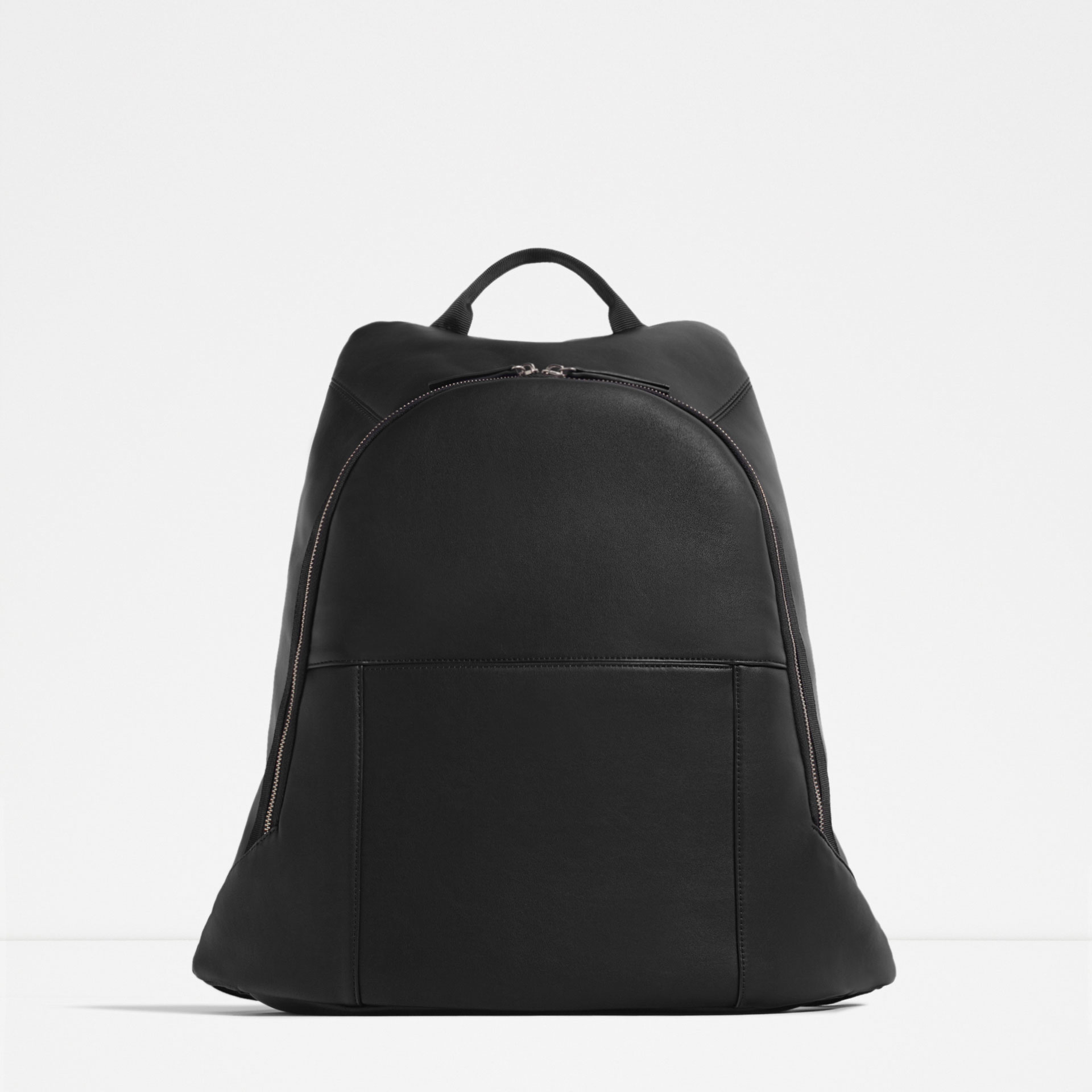Zara Backpack With Laptop Compartment in Black for Men | Lyst