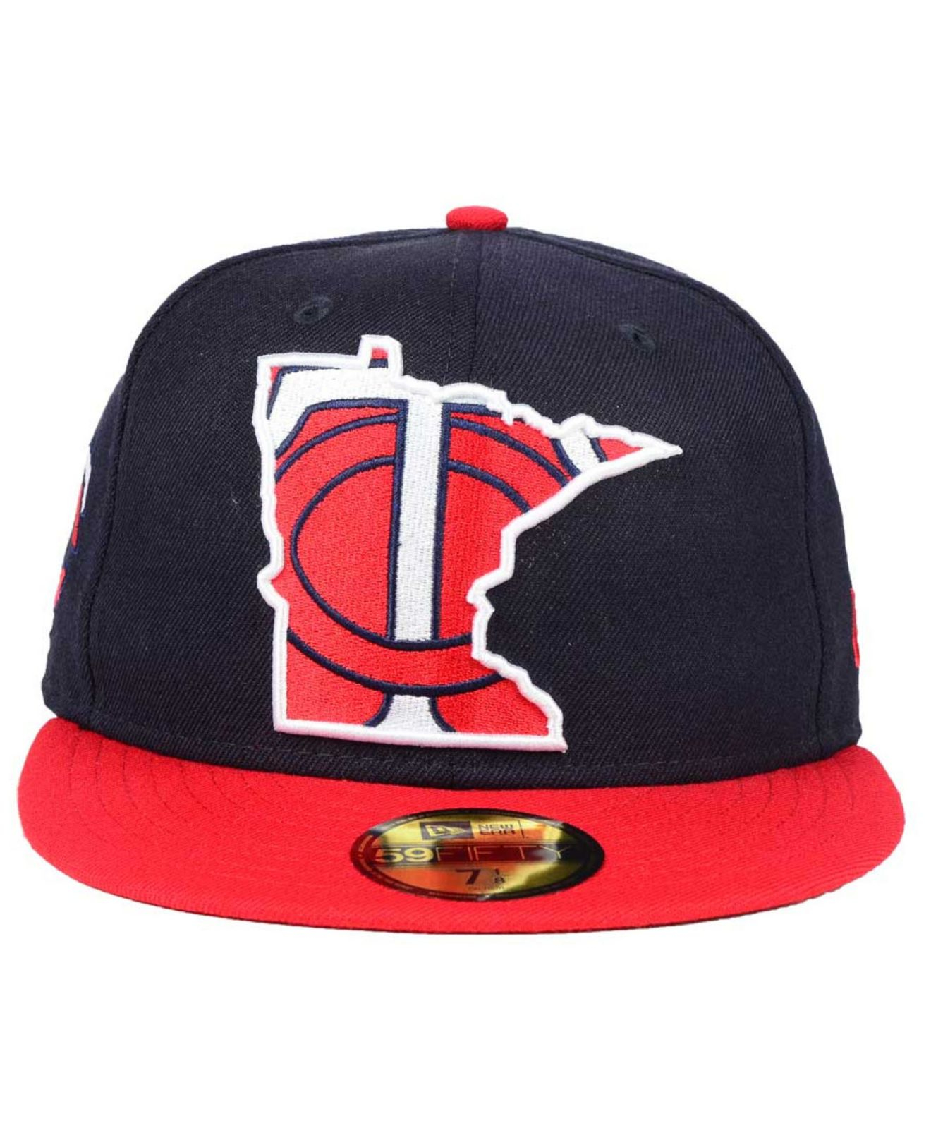 size 40 aefb7 21229 Lyst - KTZ Minnesota Twins Big State 59fifty Cap in Blue for Men