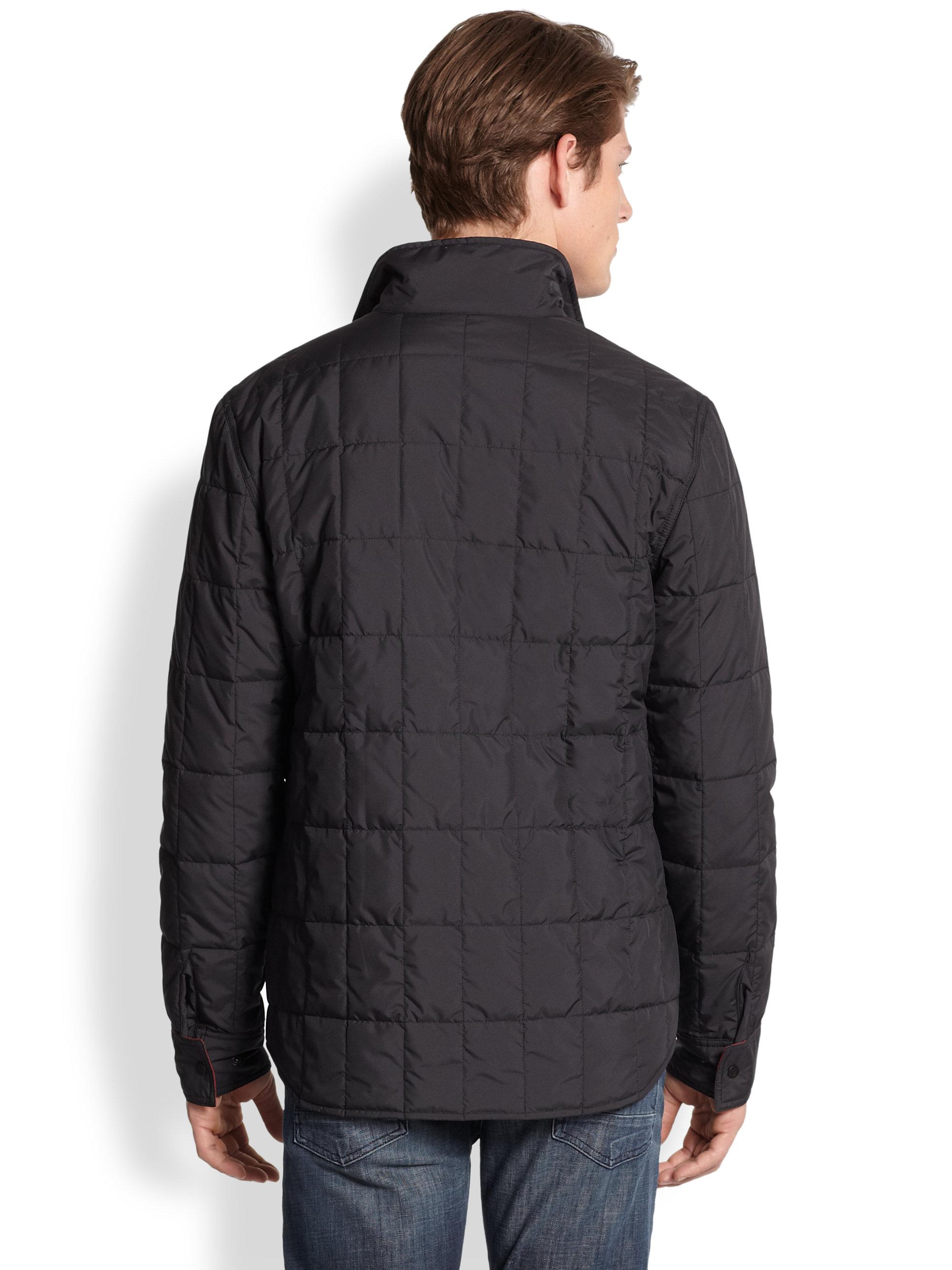 Victorinox men's zermatt utility shirt jacket