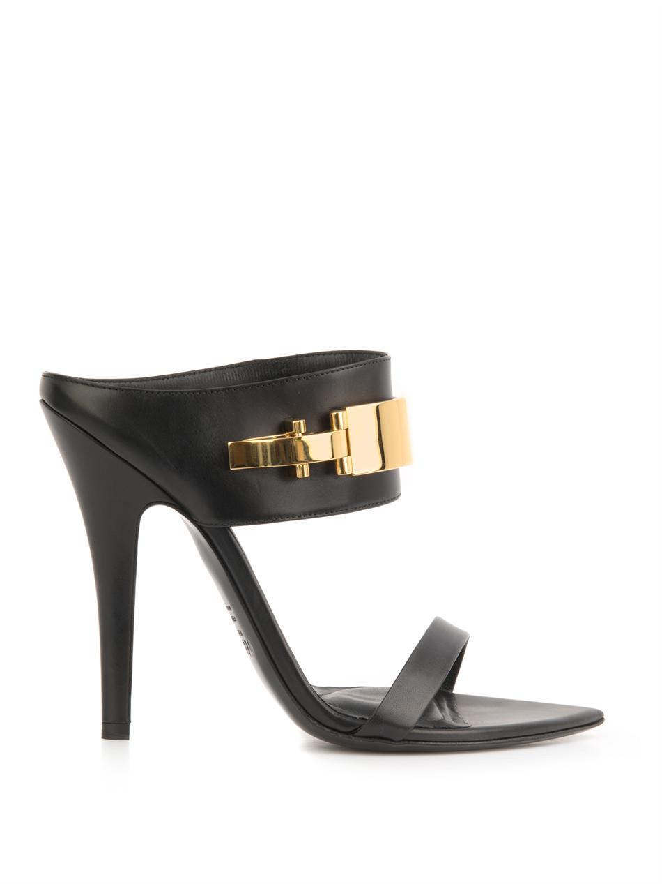 Versace High-Heel Suede Mules sale eastbay cheap enjoy low shipping fee sale online TIRxRE9J4