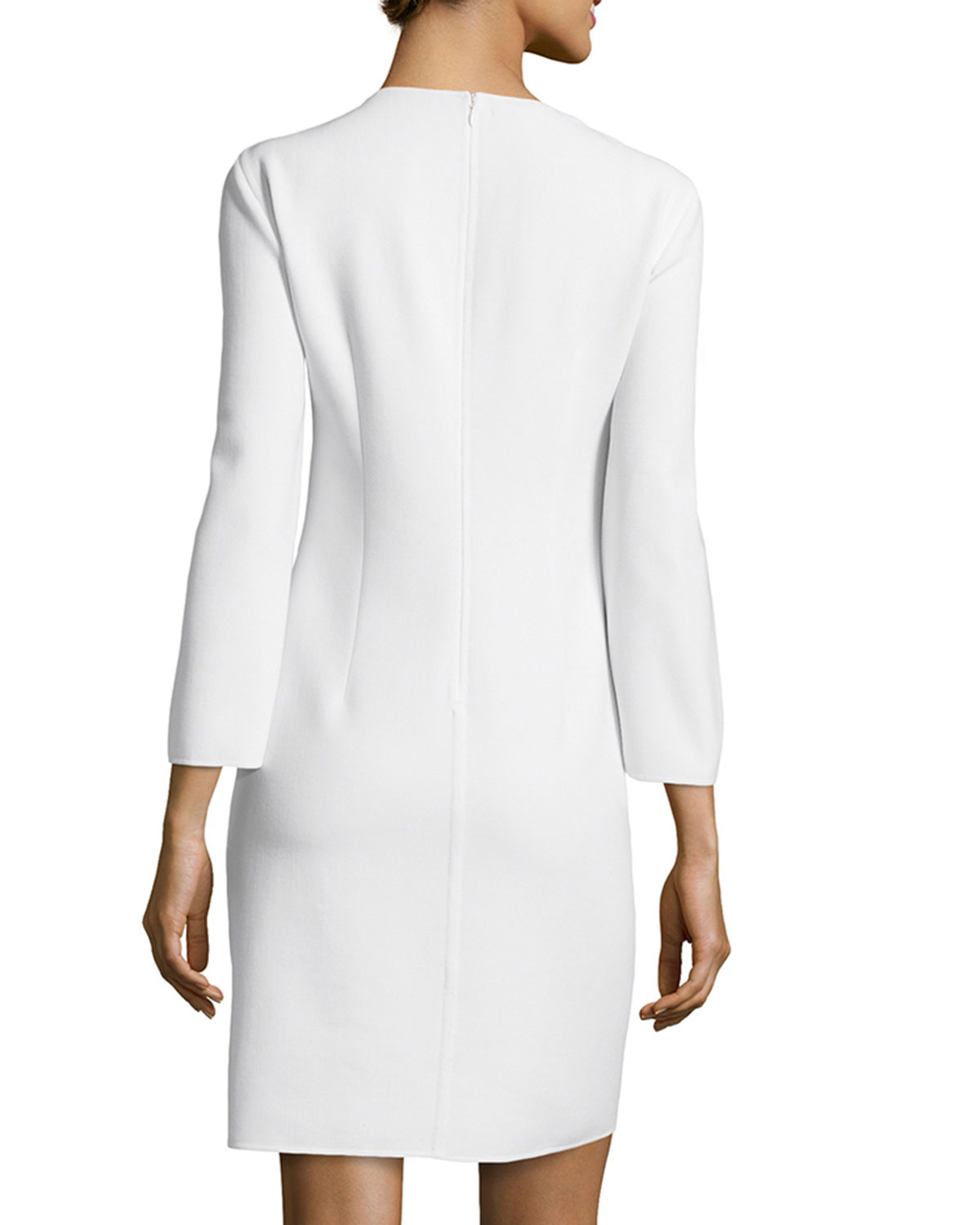 Images of White Tunic Dress - Reikian