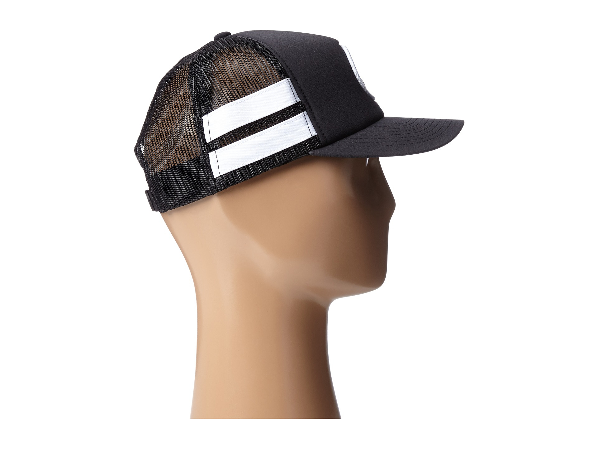 Lyst - Hurley Phantom Block Party Trucker Hat in Black b8cad6e1860