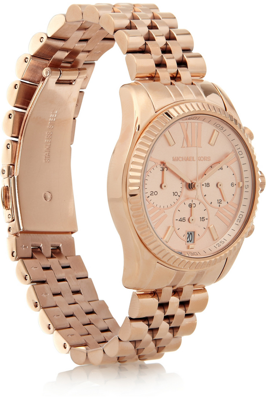 6c9fd8693495 Gallery. Previously sold at  NET-A-PORTER · Women s Gold Watches Women s Michael  Kors Lexington ...
