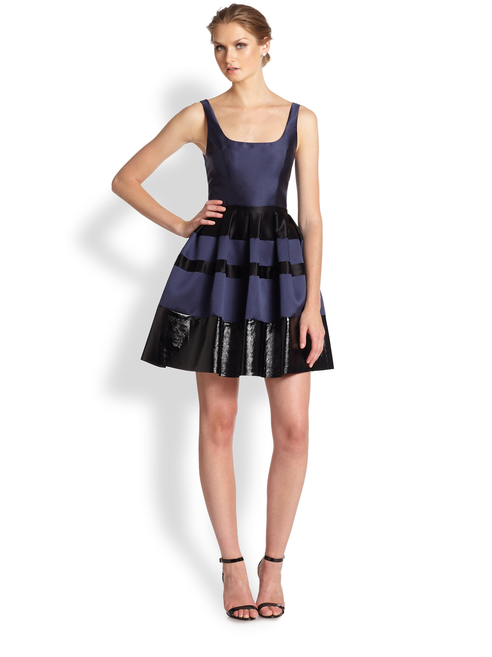designer allen schwartz women clothing dresses